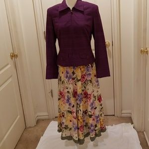 Finity Studio blazer with skirt