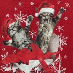 Christmas Cat Tee