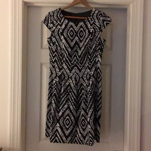 AB studio short sleeve dress