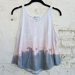 """{Wildfox} """"Lost Angeles"""" shipwrecked tank."""