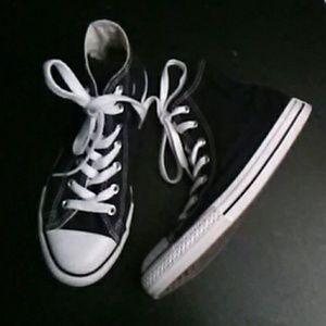 """Converse"" Black All Stars NEW##"