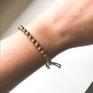 Michael Kors Gold Beaded Bracelet