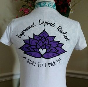 Inspirational apparel for ladies