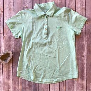 Peter Millar Mercerized Cotton Green polo shirt S