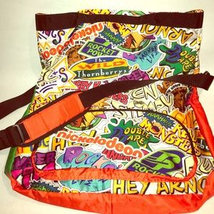Retro Nickelodeon Messenger Bag