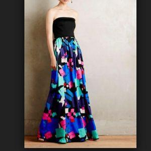 Shoshanna Midnight Carmel Gown