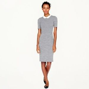 Adorable, well made J. Crew Wool Dress with Collar