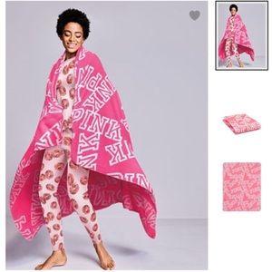 NIP Victoria's Secret Pink Cozy Blanket