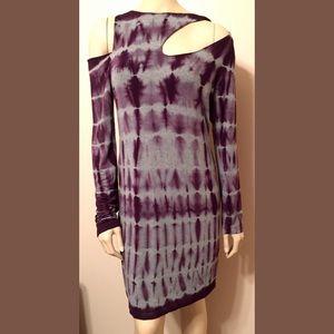 Young Fabulous & Broke Cold Shoulder Cutout Dress