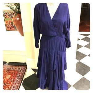 Vintage Gorgeous ruched layered dress
