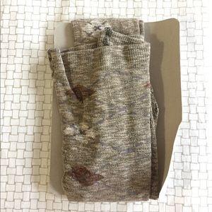 Argyle tights! Size M/L