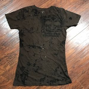 Women's / juniors large  Affliction Jealous souls