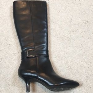 New with Box! Anne Klein leather dress boots