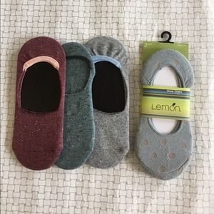5 pack shoe liners - cute and comfy