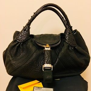 Large Fendi Spy Bag w/ Dustbag & Authenticity Card