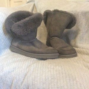 Authentic Grey Ugg Boots