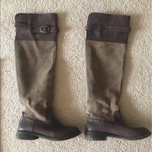 Over the knee boots from Lucky Brand