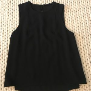 Zara Black Sleeveless Top