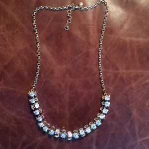 J.Crew Twisted Crystal Necklace