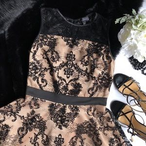 The Limited Black Lace Dress Size 6