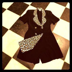 Vintage cheetah jumpsuit 🦊🦁🐾🍁