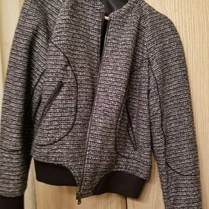 Black and white JCP jacket