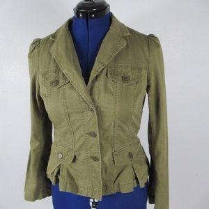 Loft women's military style blazer