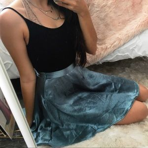 Urban Outfitters Shiny Skirt