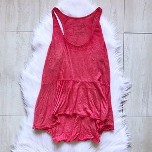 Free People Flowy Tank Top We the Free Size Small