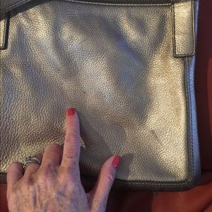 Fossil Bags - Fossil Gold toned leather purse