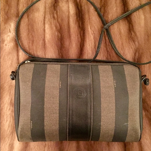 cd147acb166 Fendi Bags   Vintage Penguin Stripe Crossbody Purse   Poshmark