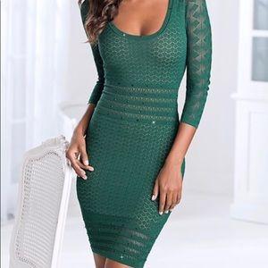 Venís beaded sweater dress