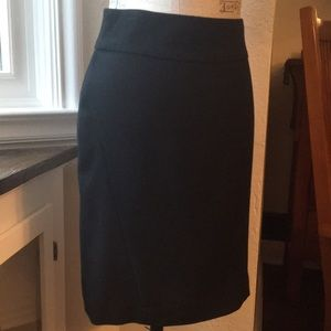 Banana Republic classic black skirt