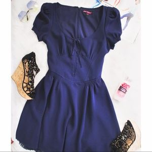 Betsy Johnson Collection Navy Blue Dress