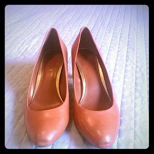Lauren Ralph Lauren Size 9 Harper pumps brown