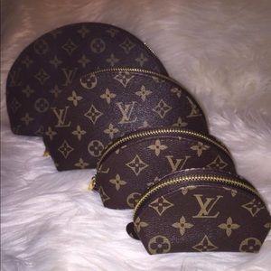 Louis Vuitton makeup bags