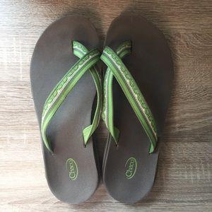 Single Cross Chaco Sandals