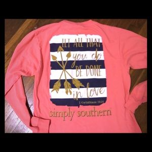 Tops - Simply southern shirt