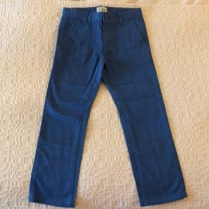 The Children's Place boys blue chino pants nwot.