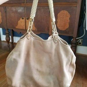 Tory Burch leather satchel