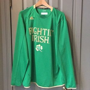 Notre Dame team issued Crewneck Pullover