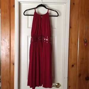 Apt.9 Strapless Red Dress