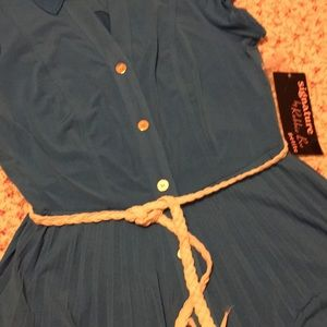 1ab633a2777 Signature by Robbie Bee Dresses - NWT ladies blue dress Dillard s  80 8p