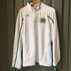 Notre Dame team issued 1/4 zip Pullover