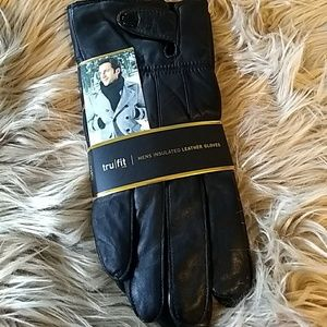 NEW TRU FIT Insulated Genuine Leather Gloves