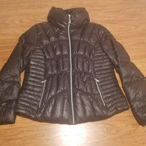 Guess Zip Up Goosedown Jacket