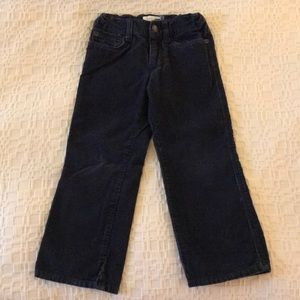 Old Navy boy's toddler navy cords.