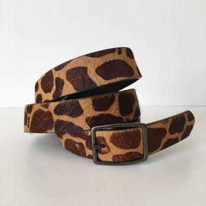 GAP •Calf Hair Belt•
