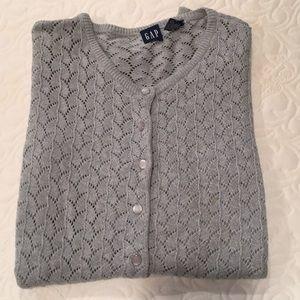 Gap crochet cardigan
