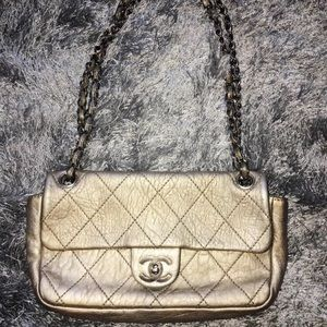 Chanel Classic Metallic Handbag